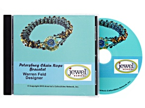 Petersburg Chain Rope Bracelet 36pg Pdf Tutorial incl Cd in Jewel Box W/Inserts