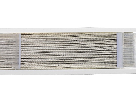 "49 Strand Bead Stringing Wire .018"" 100 Feet (31M) in Silver Color"