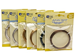 14 And 16 Gauge Artistic Wire Kit Contains 6 Spools Total