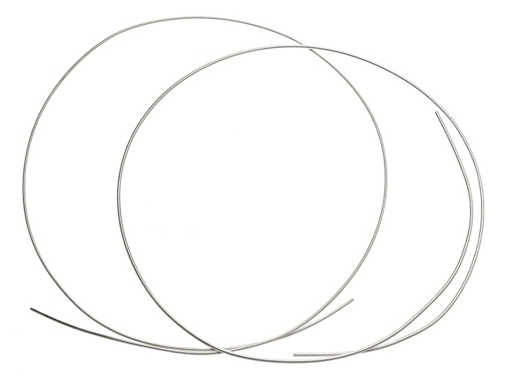 10 Silver Filled Round Wire Kit Includes 14 Gauge And 16 Gauge