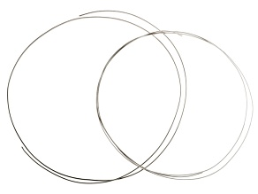 "1/10 Silver Filled Half Round Wire Kit includes 14 Gauge (36"") And 16 Gauge (48"")"