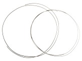 1/10 Silver Filled Half Round Wire Kit includes 14 Gauge (36