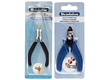Picture of Finishing Pliers And Nipper Kit includes Finishing Pliers And Pocket Nipper