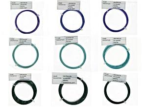 Matte Pastel Artistic Wire  18, 20, 22 Ga Wire Kit Pastel Turq, Pastel Gunmetal, & Pastel Lilac Clr