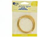 Artistic Wire In Brass And Crimp Connectors In Antq Brass Tone Kit Includes 12, 14, 16 Gauge Wire