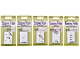 Findings Forms 5pc Kit: Toggle Clasp, Open French, Swoop, Z-Hook & Adjustable Rings