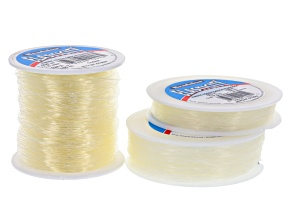 Original Elasticity Kit in Clear Sizes 0.5mm, 0.8mm & 1.0mm Appx 100m Each
