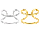 Ring Base Kit Of 10 Pieces in 5 Assorted Styles - 5 Gold Tone & 5 Silver Tone