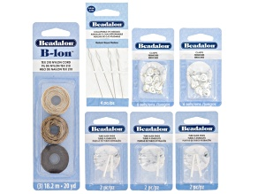 Slide Tube Kit incl Slide Tube Ends, Clasps, B-Lon & Collapsible Eye Needle