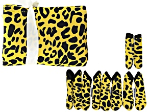 Fashion Grips ™ Cheetah Pattern Set Of Five Covers Plus Tool Pouch