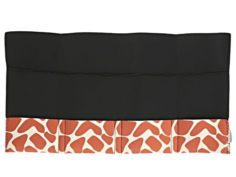 Orange Giraffe Pattern Tool Pouch Holds 4 Tools