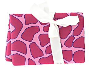 Pink Giraffe Pattern Tool Pouch Holds 4 Tools