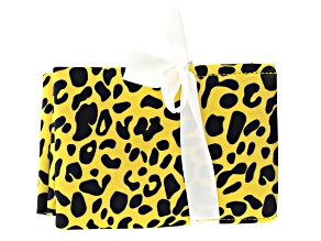 Cheetah Pattern Tool Pouch Holds 4 Tools