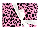 Pink Cheetah Pattern Tool Pouch Holds 4 Tools
