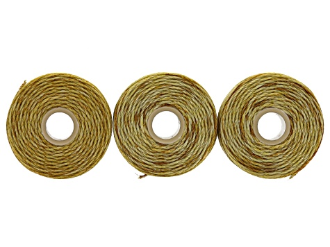 B-Lon Tex 210 Assorted Cord Kit in Gold Color, Silver Color, Copper Color &Grey incl 14 Spools Total