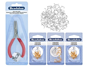 Pinch Bail Kit incl Pinch Bail Pliers And 168 Pinch Bails