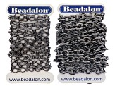 Bulk Chain Kit In Silver Tone & Hematite Color Incl 4 Assorted Styles/16 Pieces Total