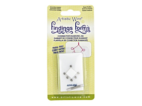 Artistic Wire Findings Forms Assortment for Clasps, Earwires & Connectors Set of 8 Pieces