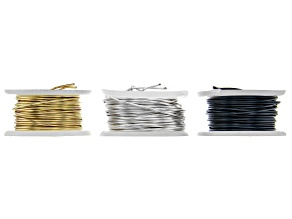 Artistic Wire 24 Gauge appx .50mm in 3 Colors 5yd each