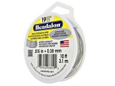 19 Strand Bead Stringing Wire Set of 6 in Assorted Colors in 10 & 15 Foot Spools