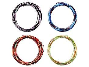 Multi-Color Wire Set of 4 in 20 & 22 Gauge