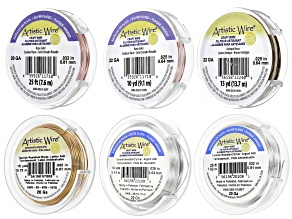 Artistic Wire Set of 6 in 20G & 22G in Assorted Colors