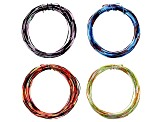 Multi-Color Wire Set of 4 in 20 & 22 Gauge & Economy Wire Twister with 2-5 Holes