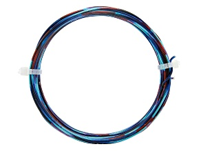 18 Gauge Dark Blue, Light Blue, and Red Multi-Color Wire Appx 20 Feet