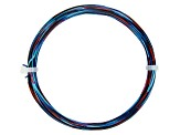 20 Gauge Dark Blue, Light Blue, and Red Multi-Color Wire Appx 25 Feet