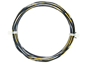 18 Gauge Black, Gold Tone, and Silver Tone Multi-Color Wire Appx 20 Feet