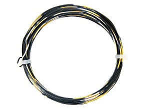 20 Gauge Black, Gold Tone, and Silver Tone Multi-Color Wire Appx 25 Feet