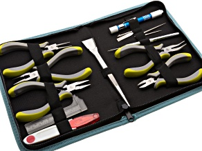 Jewel School® 10 piece Ergo Tool Kit With Pouch