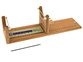 Little Ricky Beading Loom Kit  instructions included 3 Rods, 4 Warp Pegs&Warp Separator Card.