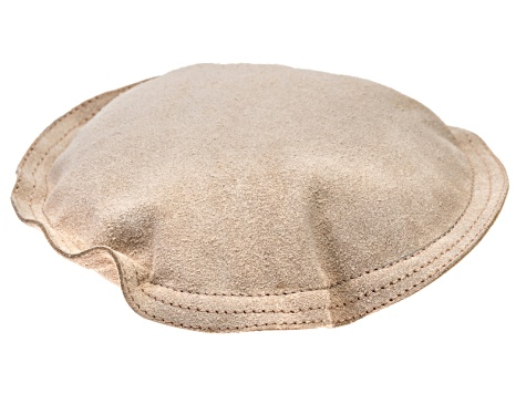 "7"" Round Leather Sandbag - Great For Stamping, Chasing, And Forming"