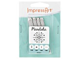 Mandala Design Stamp Kit includes Arrows, Triangles And Dots