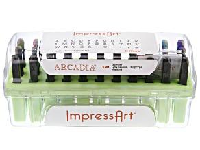 Impressart® Arcadia Uppercase Letter Stamp Kit