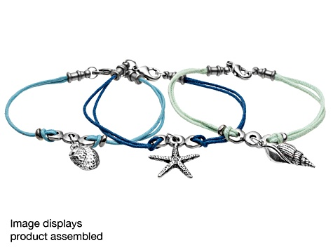 Set Of 3 Nautical Theme Jewelry Making Project Kits With