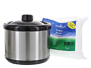Pickle Pot With Citric Acid