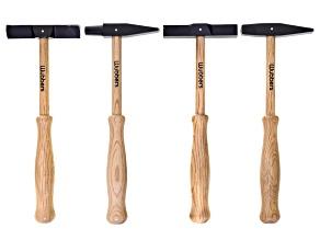 Wubbers 4pc Artisan Shaped Texturing Hammer Set