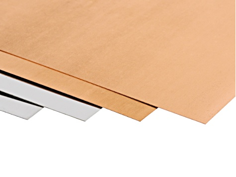 28 Gauge Metal Sheet Kit includes 2 Pieces 6x6