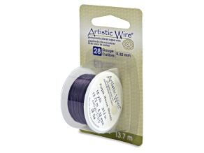 Artistic Wire, 28 Gauge (.32 mm), Purple, 15 Yd (13.7 m)
