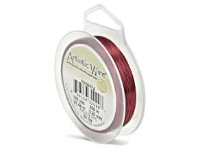 Artistic Wire, 32 Gauge (.20 mm), Magenta, 100 Yd (91.4m)