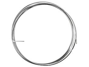 18 Gauge Square Half Hard Argentium  Silver Wire/5 Feet