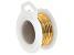 Gold Tone Silver Over Copper Non-Tarnish 20 Gauge Wire Appx 6 Yard Spool