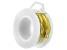 Yellow Brass 20 Gauge Wire Appx 10 Yard Spool