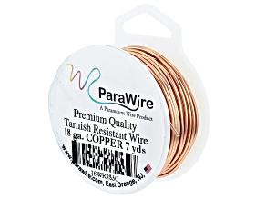 Copper 18 Gauge Wire appx 7 Yard Spool