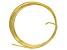 Yellow Brass 12 Gauge Wire 5 Foot Spool