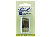 Craft Wire 20 Gauge 6 Yards Olive