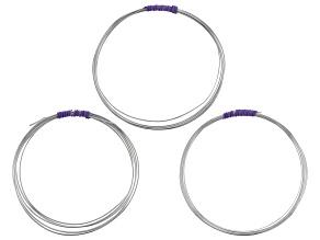 1/10 Sterling Silver Filled Wire in 16 Gauge, 18 Gauge, and 20 Gauge 20 Feet Total