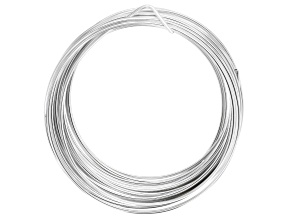 Silver Over Copper Tarnish Resistant 16 Gauge Wire 15 Foot Spool